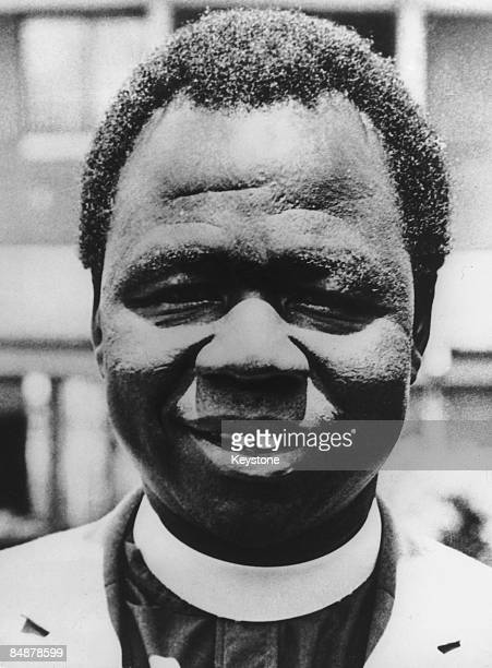 Archbishop Janani Luwum of Uganda circa 1975 He was arrested and murdered after criticising the regime of Ugandan dictator Idi Amin