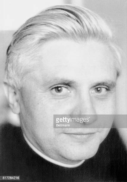 Archbishop Joseph Ratzinger of Munich who will be appointed cardinal in a consistory June 27 1977