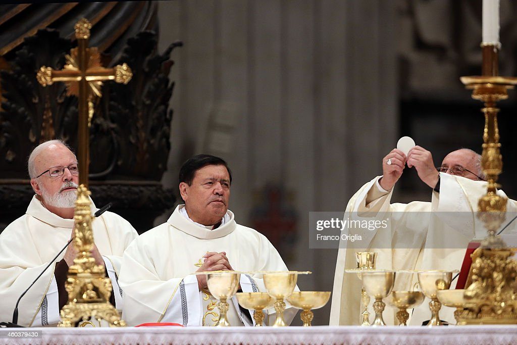 Pope attends Eucharist Celebration On The Feast of Our Lady of Guadalupe