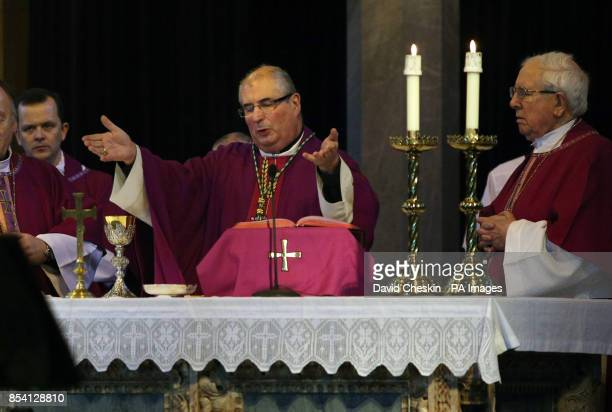 Archbishop Phillip Tartaglia takes mass at St Mary's Cathedral Edinburgh for the first time since being named temporary successor to Cardinal Keith...