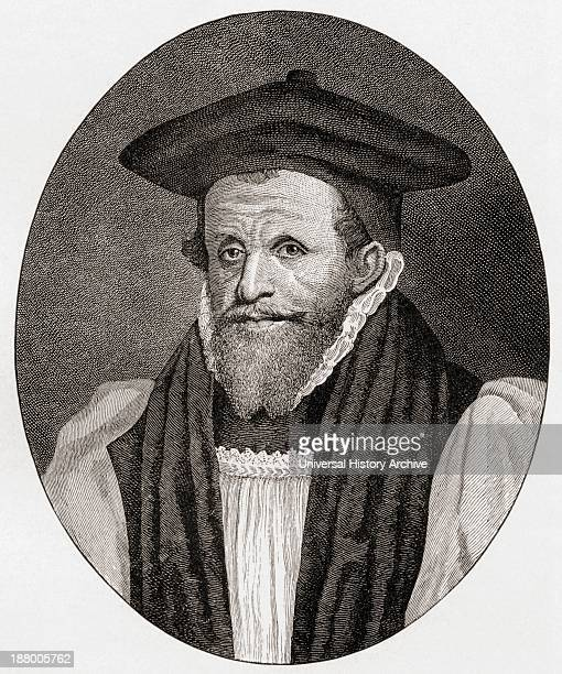 Archbishop Richard Bancroft 1544 To 1610 Archbishop Of Canterbury From The Book Short History Of The English People By JR Green Published London 1893