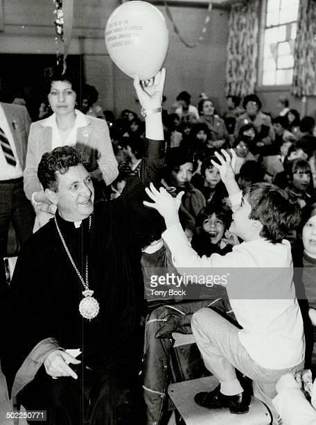 Archbishop Torkom Mangooian Armenian Christmas at St John's Anglican Church York Mills