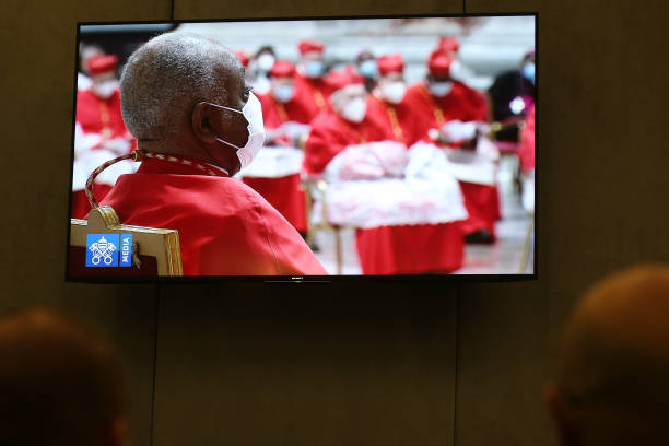 VAT: Pope Francis Celebrates A Mass With Newly Elected Cardinals