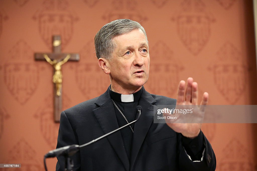 Pope Names Blase Cupich As New Archbishop Of Chicago : News Photo