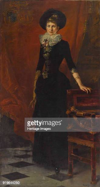 Archduchess Gisela of Austria Princess of Bavaria 1885 Private Collection
