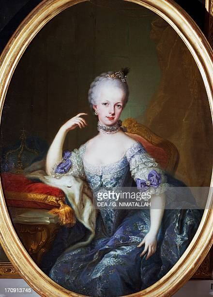 Archduchess Maria Josepha of Austria , daughter of Maria Theresa of Austria, Holy Roman Empress and Francis I, Emperor of the Holy Roman Empire,...