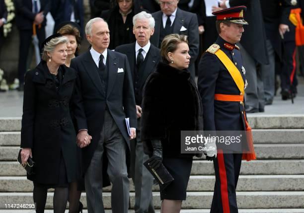 Archduke Carl Christian of Austria and his wife Archduchess Marie Astrid of Austria Grand Duke Henri of Luxembourg and his wife Grand Duchess Maria...