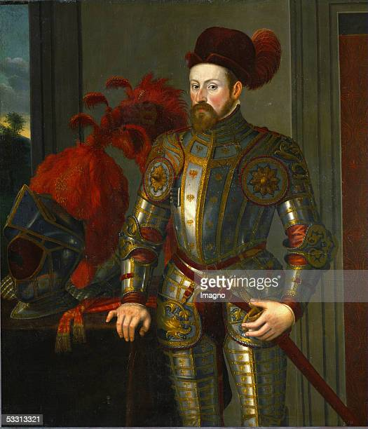 Archduke Ferdinand II second son of King Ferdinand I and Anna of Hungary Governor of Tyrol art collector married Philippine Welser in 1557 By...