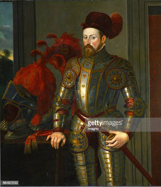 Archduke Ferdinand II , second son of King Ferdinand I and Anna of Hungary, Governor of Tyrol, art collector, married Philippine Welser in 1557. By...
