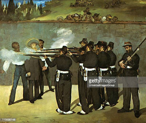 Archduke Ferdinand Maximilian von Habsburg Brother of Emperor Franz Josef of Austria-Hungary. Emperor of Mexico 1862-1867 Execution of Maximilian...