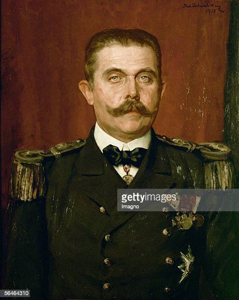 Archduke Franz Ferdinand in admiral's uniform Around 1910 [Erzherzog Franz Ferdinand in seiner Admiralsuniform Um 1910]