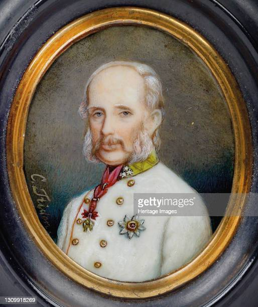 Archduke Franz Karl of Austria . Private Collection. Artist Tridon, Caroline . .