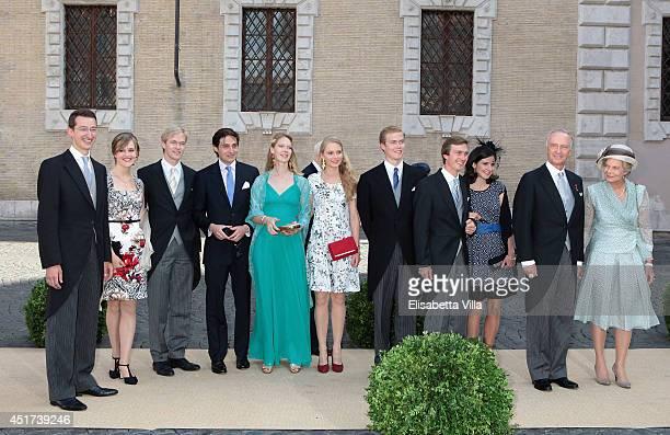 Archduke Franz Ludwig of Austria Kathleen Walker Archduke Imre of Austria Archduchess Gabriella of Austria Archduke Alexander of Austria Archduke...