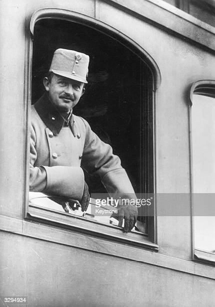 Archduke Karl Franz Josef , emperor of Austria from 1916 to 1918. He became the last of the Habsburg emperors.