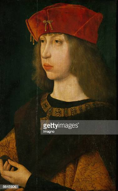 Archduke of Austria later King of Castile son of Emperor Maximilian I father of Emperor Charles V Oil on wood 418 x 269 cm Inv 2085 By StPriest...