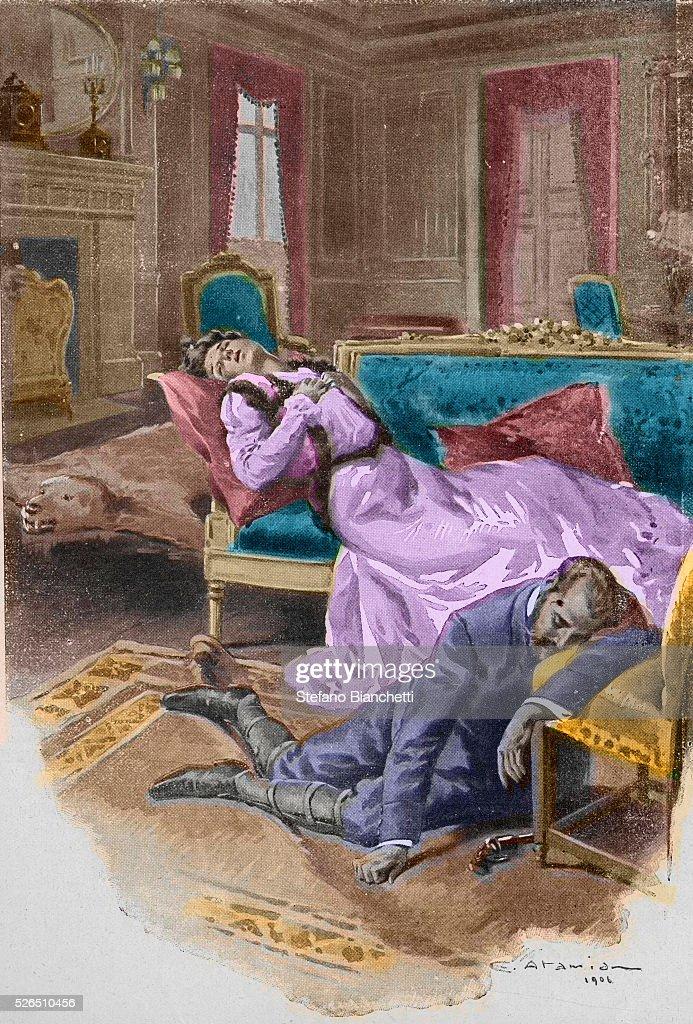 Archduke Rudolf kills himself and his mistress, Baroness Mary Vetsera : News Photo