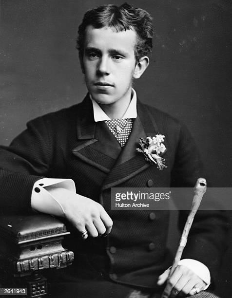 Archduke Rudolf , crown prince of Austria, son of Franz Joseph I, emperor of Austria.
