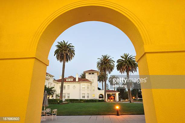 arched door - san jose california stock pictures, royalty-free photos & images