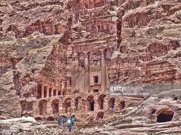 Archeological Site Of Petra