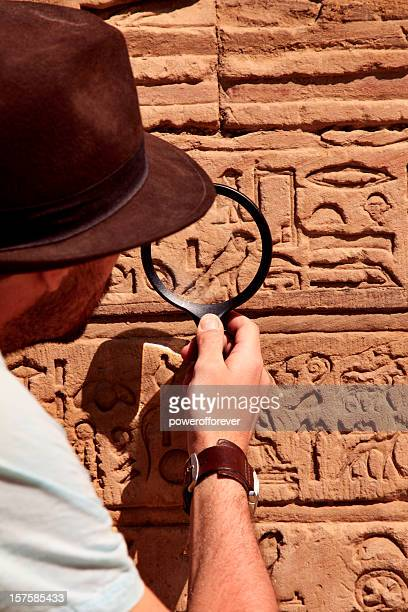 archeologist - egyptian artifacts stock pictures, royalty-free photos & images