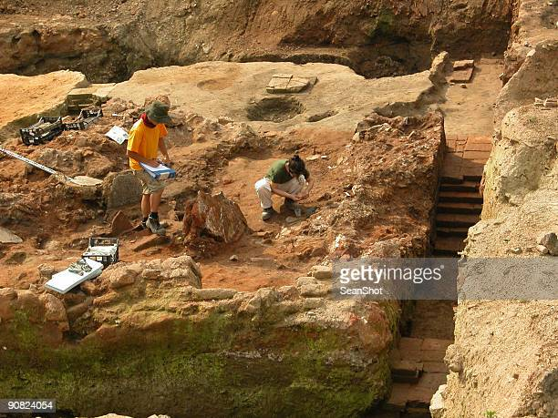 Archeologists at work II