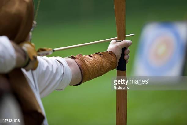 Archer の撮影にリボンと矢印