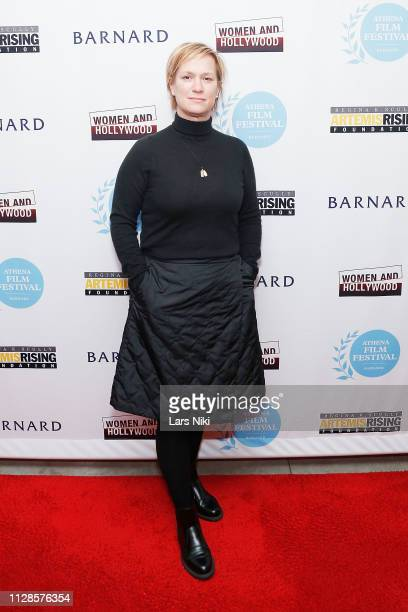Archer Gray president of production Anne Carey attends the 2019 Athena Film Festival awards ceremony at the Diana Center at Barnard College on March...