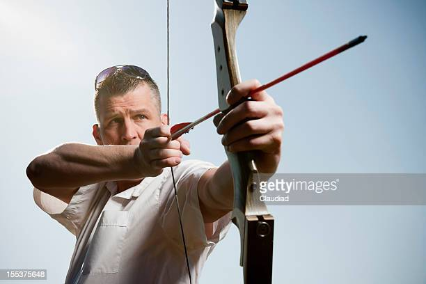 Archer にリボンと矢印