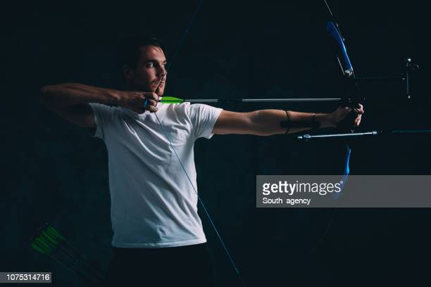 Archer with the bow and arrow
