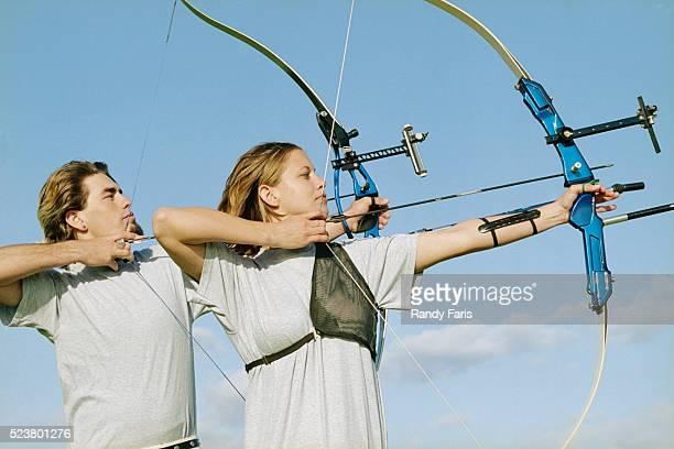 Archers in Field