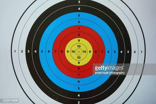 Archery aiming target