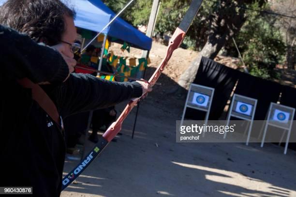 tiro con arco en la feria medieval