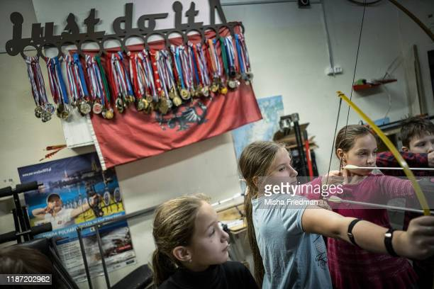 Archery class on December 8, 2019 in Moscow, Russia. The country's archers have enjoyed modest success at the Olympics, including a silver medal for...