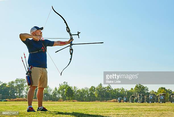 Archery Competition Bow full length