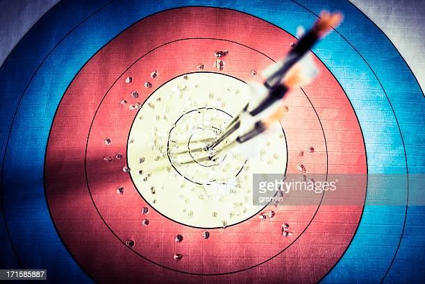 Archery, spot on