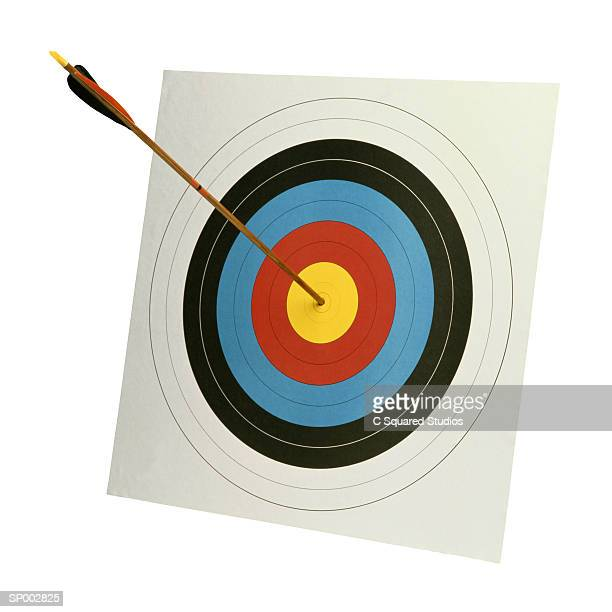 Archery Target and Arrow
