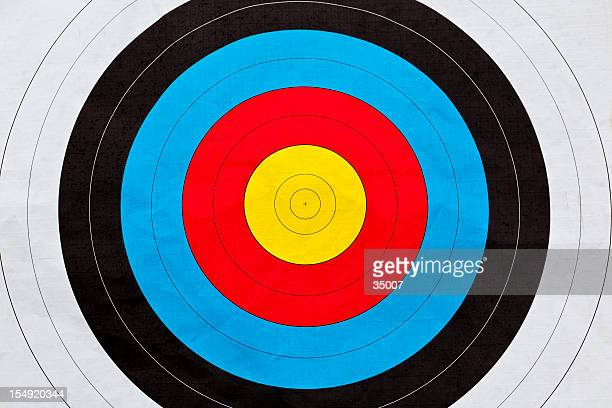 archery target - archery stock pictures, royalty-free photos & images