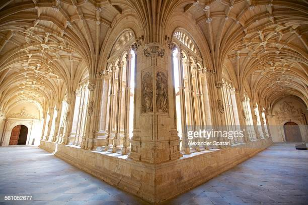 Arches and windows of San Esteban Church,Salamanca