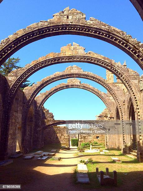 Arches In Row At Pathway