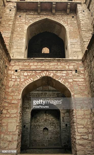 Arches Inside Agrasen Ki Baoli.