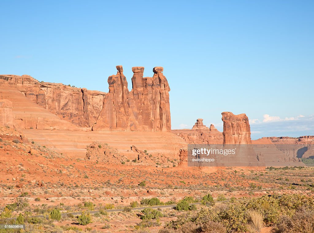 Arches NP : Stock Photo