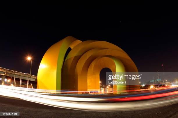 Arches of the Millenium, works of the Mexican Sebastian, located in the City of Guadalajara, host of the Panamerican Games Guadalajara 2011, June 24,...
