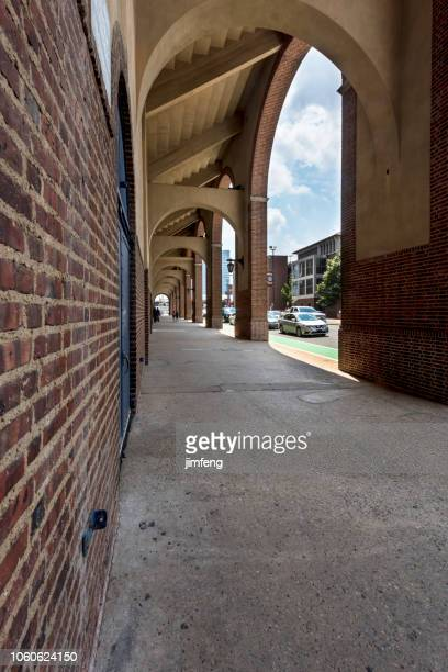 arches - university of pennsylvania stock photos and pictures