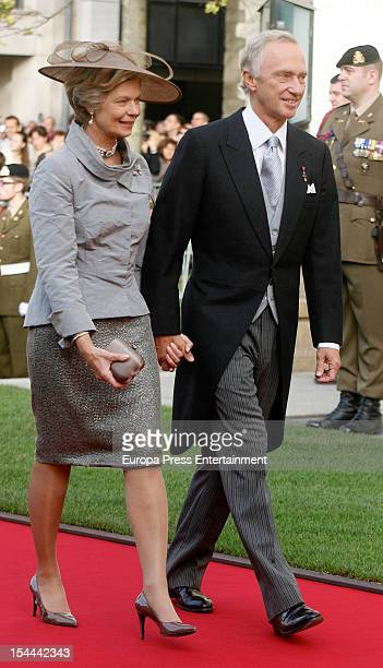 Archi Duke Christian of Austria and Archi Duchess MarieAstrid of Austria during the wedding ceremony of Prince Guillaume Of Luxembourg and Countess...