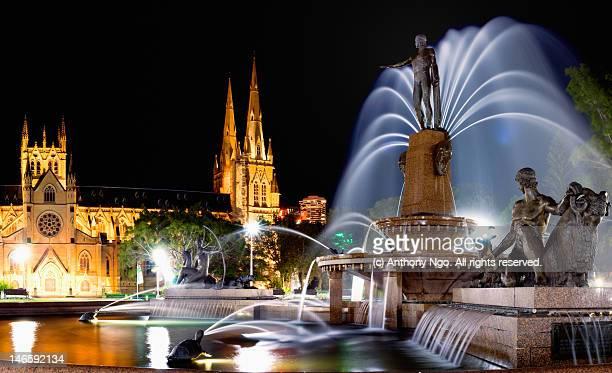 Archibald fountains, Sydney