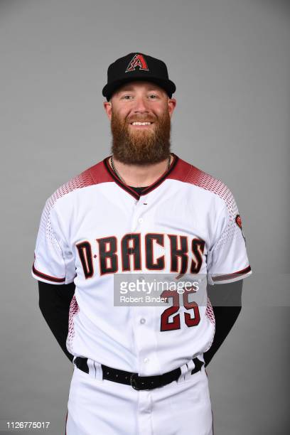 Archie Bradley of the Arizona Diamondbacks poses during Photo Day on Wednesday February 20 2019 at Salt River Fields at Talking Stick in Scottsdale...