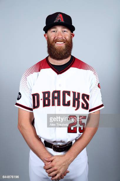 Archie Bradley of the Arizona Diamondbacks poses during Photo Day on Tuesday February 21 2017 at Salt River Fields at Talking Stick in Scottsdale...