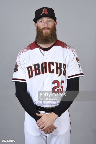 Archie Bradley of the Arizona Diamondbacks poses during Photo Day on Tuesday February 20 2018 at Salt River Fields at Talking Stick in Scottsdale...