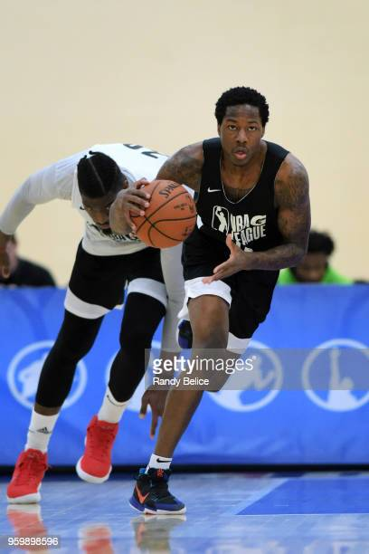 Archie Goodwin moves up the court during the NBA GLeague Elite Mini Camp on May 14 2018 at Quest Multisport in Chicago Illinois NOTE TO USER User...