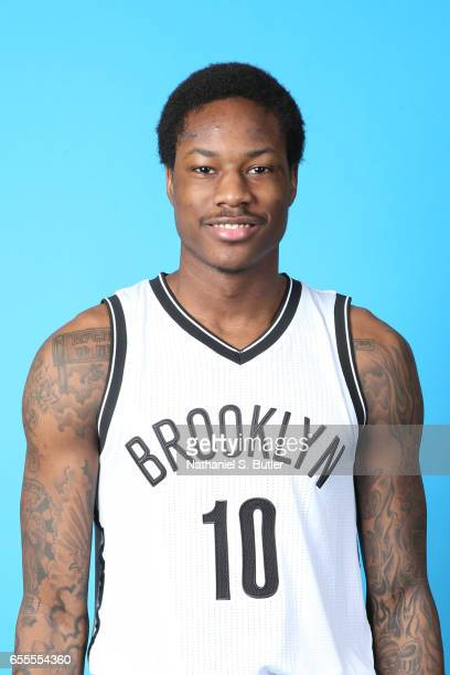 Archie Goodwin of the Brooklyn Nets poses for a head shot on March 17 2017 at Barclays Center in Brooklyn New York NOTE TO USER User expressly...